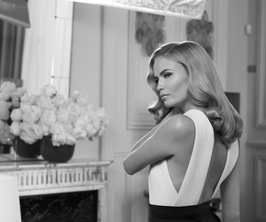 black and white, Natasha Poly, and classy image