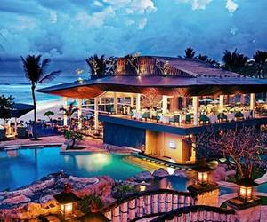 house, luxury, and pool image