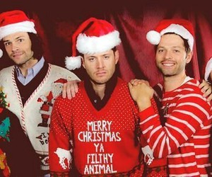 supernatural, christmas, and spn image