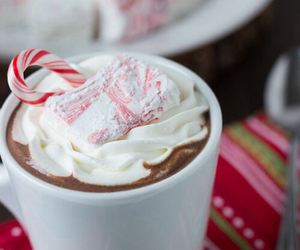 christmas, love, and cocoa image