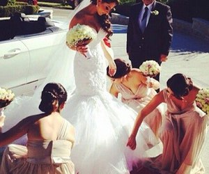 wedding, luxury, and bride image