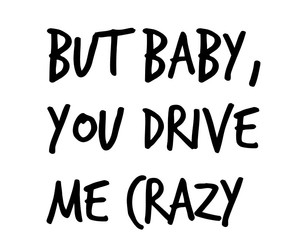 baby, in love, and quote image