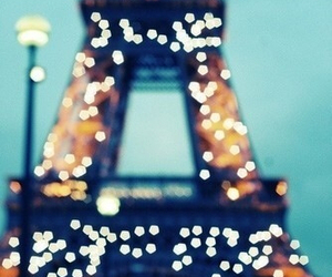 paris, light, and france image