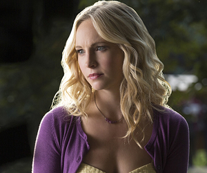 caroline forbes, the vampire diaries, and candice accola image