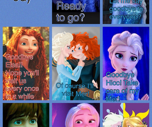 anna, comic, and jack frost image