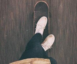 skate, cool, and vans image