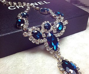 chanel, luxury, and necklace image