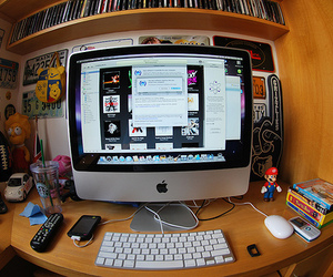 apple, computer, and mac image