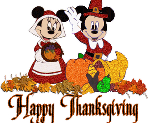 micky and happy thanksgiving image