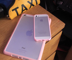 iphone, pink, and ipad image