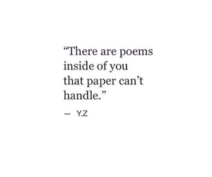 quote, poem, and Paper image