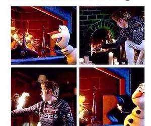 niall horan, one direction, and olaf image