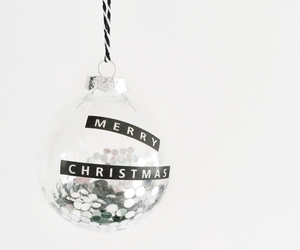ball, christmas, and decoration image