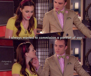 blair waldorf, chuck bass, and couple image