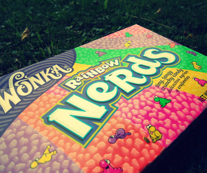 nerds, candy, and grass image
