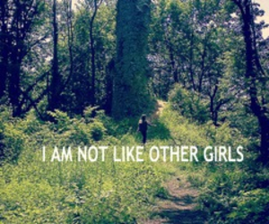 alone, forest, and me image