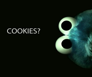 blue, cookiemonster, and Cookies image
