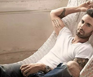Hot, maroon 5, and Tattoos image