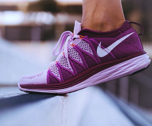 nike, purple, and pink image
