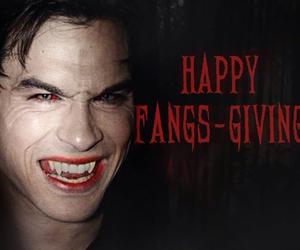 blood, ian somerhalder, and the vampire diaries image