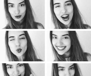 beauty, kiss, and lipstick image