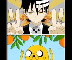 anime, soul eater, and manga image