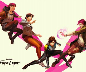 fetch and infamous first light image