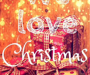 christmas, love, and winter image
