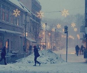 amazing, city, and snow image