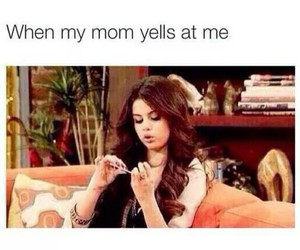 funny, mom, and selena gomez image