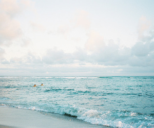 beach, sea, and waves image