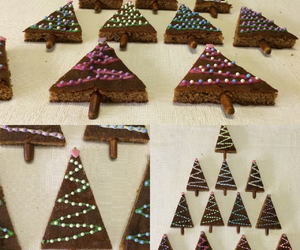 candy, chocolat, and christmas image