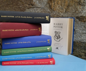 books, harry potter, and harry potter books image
