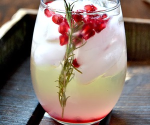 beverages, sangria, and cranberry image