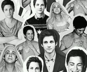 logan lerman, boy, and Collage image