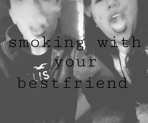 bff, hookah, and smoking image