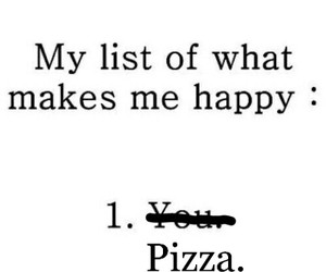 pizza, funny, and happy image