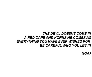 quotes and Devil image