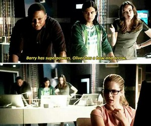 arrow, barry allen, and funny image