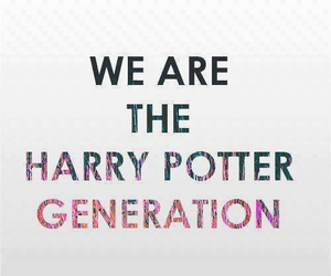 harry potter, generation, and book image