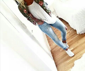 beauty, casual, and trend image