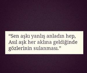 quotes, sözlük, and Turkish image