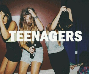 teenager, party, and fun image