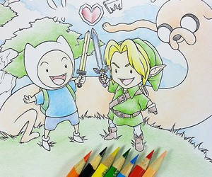 drawing, sweet, and the adventure time image