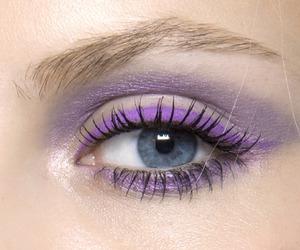 blue eyes, eyes, and eyeshadow image