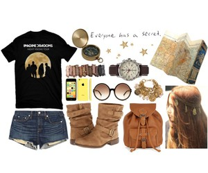 Polyvore and imagine dragons image