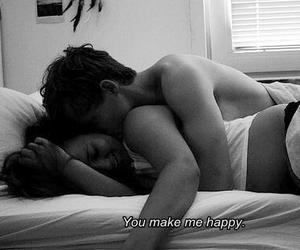 boy, night, and you make me happy image