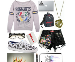 books and Polyvore image