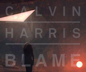 blame, calvin harris, and music image