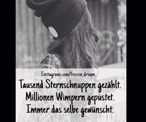 sprüche, sternschnuppe, and wimpern image